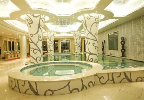 高档浴池装修效果图