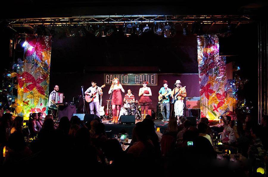 古风格音乐酒吧舞台灯光设计图欣赏