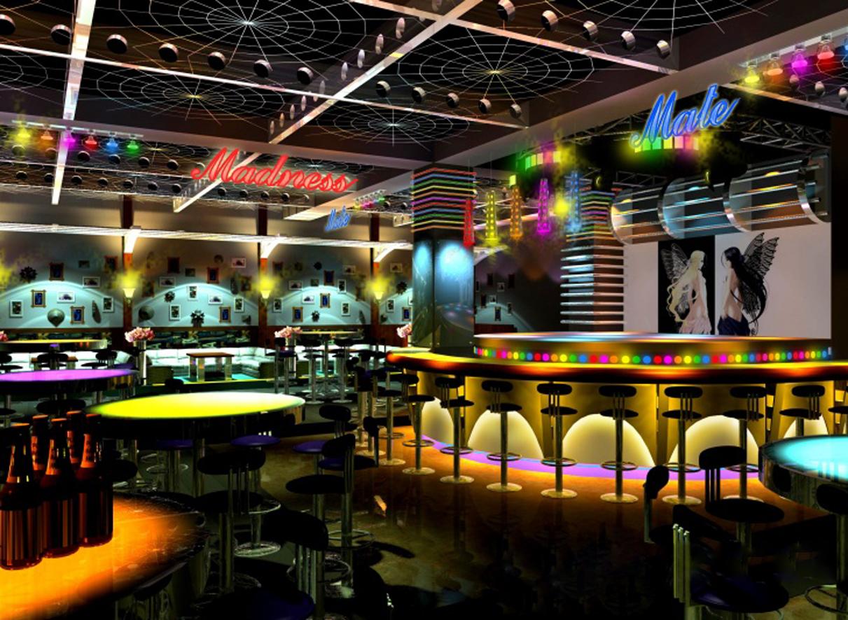 多元化与流畅性的夜总会空间,总是能够给消费者很多的娱乐方式...