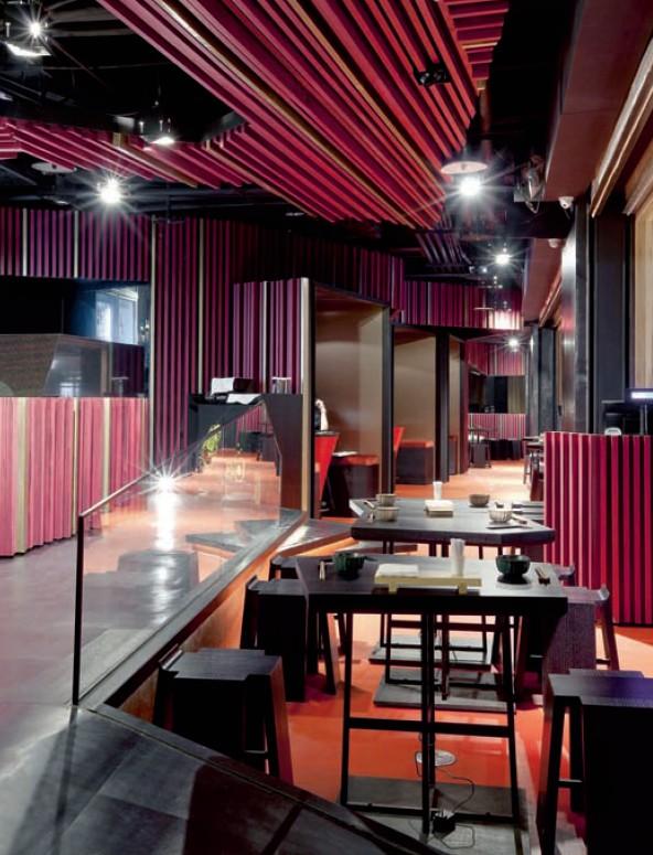 湾特色时尚酒吧吧台设计效果图欣赏